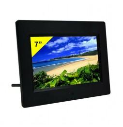 "Cornice Digitale 7 "" Display LCD Ingresso USB Nero New Majestic DF537N"