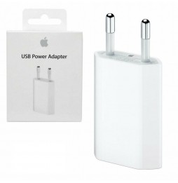 APPLE Power Adapter 5W MD813ZM/A Originale 100% Caricabatterie Per iPhone A1400