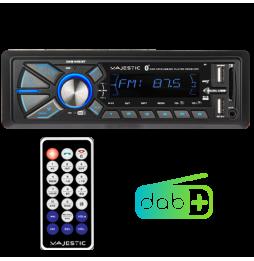 Autoradio Bluetooth 1 DIN USB Radio DAB+ Lettore Mp3 New Majestic DAB-442