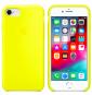 Cover I Phone 7 e 8 Apple Originale Giallo Fluo