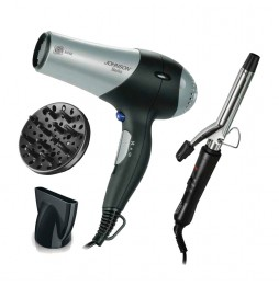 Johnson Professional Hair Dryer and Curler Bello and Ricciolo