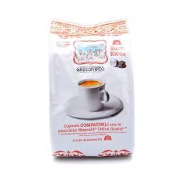 Capsule Caffè TODA Gattopardo GUSTO INSONNIA compatibile Lavazza A Modo Mio