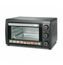Johnson Electric Ventilated Oven 28 Liters Black