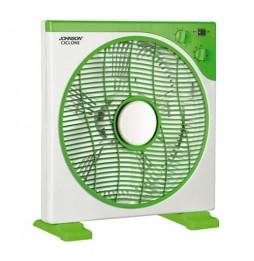 Ventilatore con base Ciclone johnson 5 pale 3 velocità rotazione griglia timer