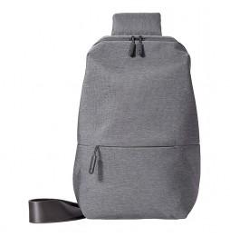 Xiaomi Mi City Sling Bag 15938, Zaino Unisex con tasca frontale, Grigio Scuro