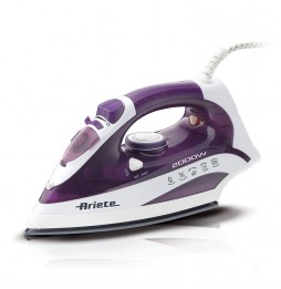 ARIETE Steam Iron Ferro da stiro con piastra in acciaio 2200 Watt