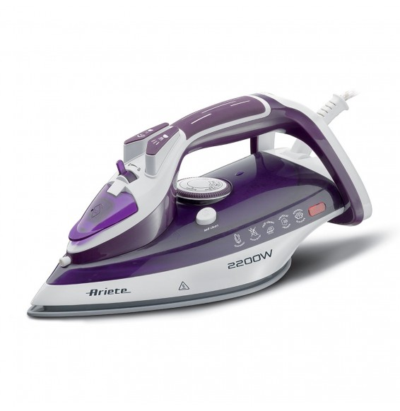 Ariete Steam Iron 2200 watt 6243 Steam iron ceramic plate