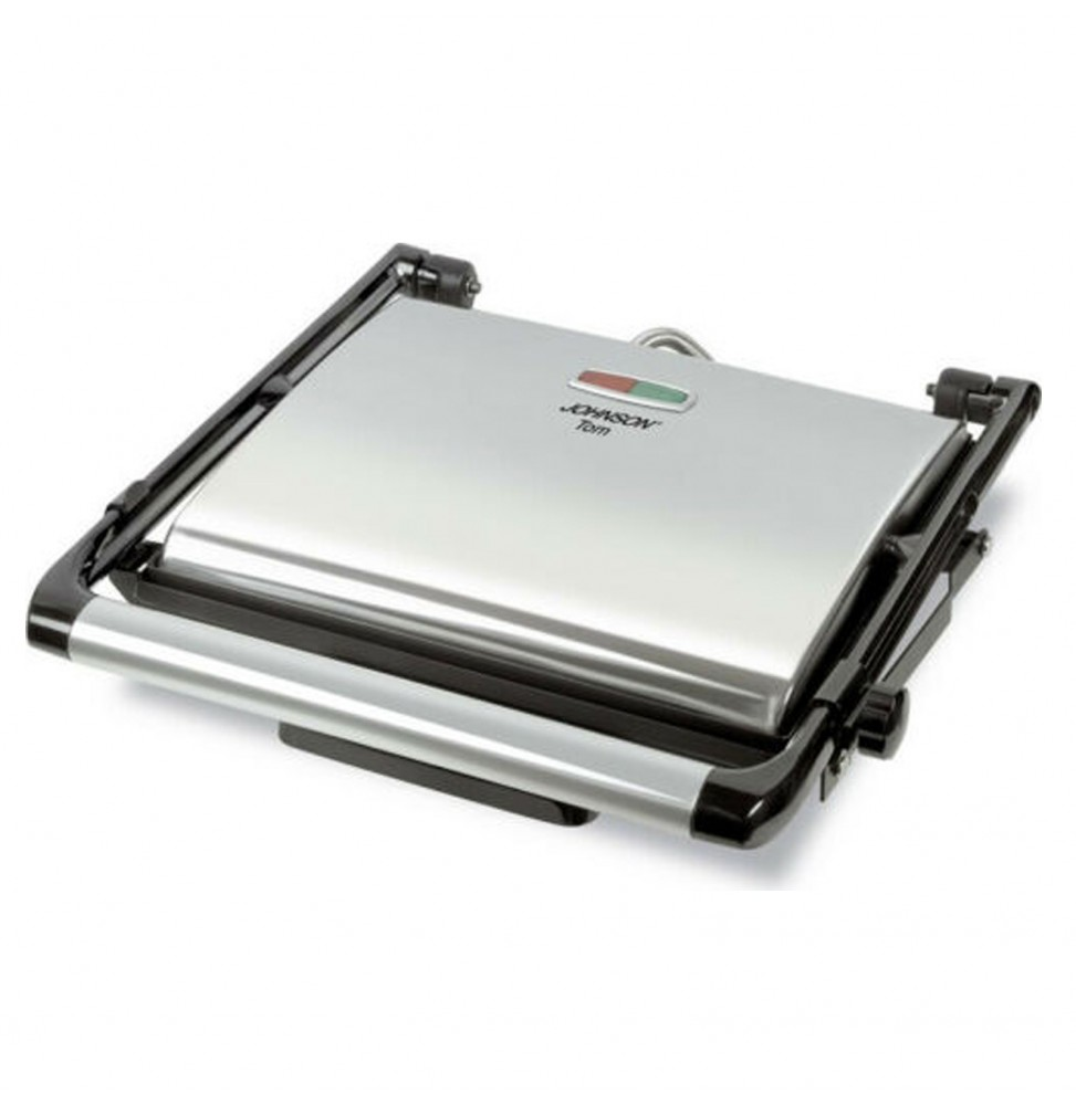 JOHNSON TOM BISTECCHIERA ELETTRICA BARBECUE PIASTRE ANTIADERENTI 2000W